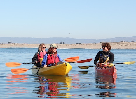Kayaking on Monterey Bay with Monterey Bay Kayak Company
