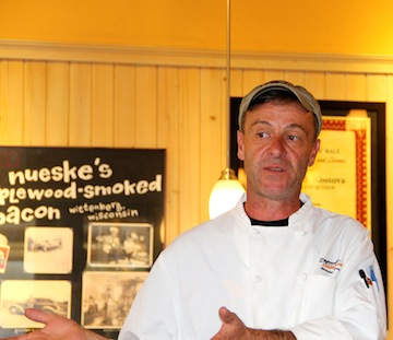 Ann Arbor's Chef Alex Young at Zingerman's Roadhouse