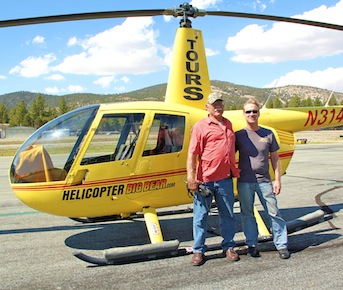Big Bear CA–Helicopter Flightseeing