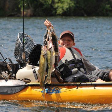 Hobie's Pedal Powered Kayaks for Fishermen