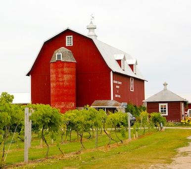 Door County, Wisconsin–rural discoveries & fresh cherries