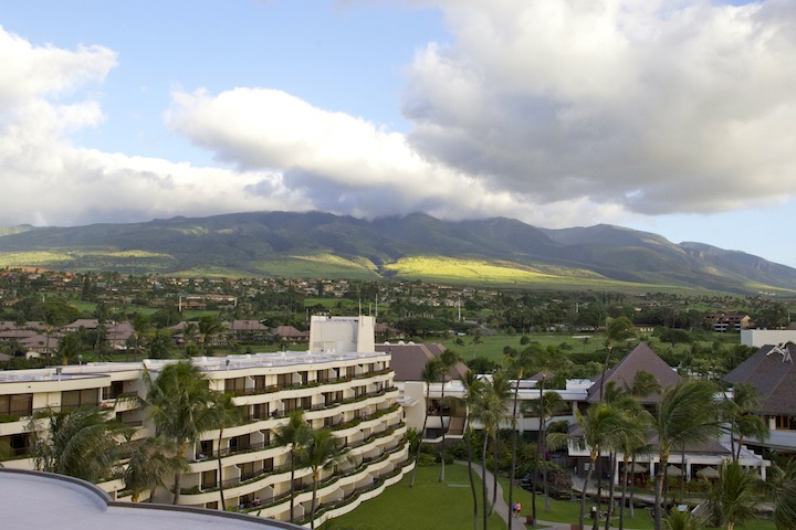 Sheraton Maui upcountry vista