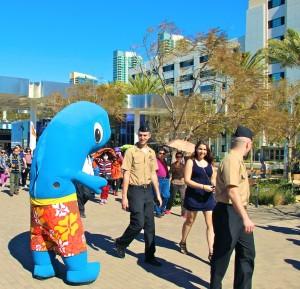 Hornblower San Diego Mascot