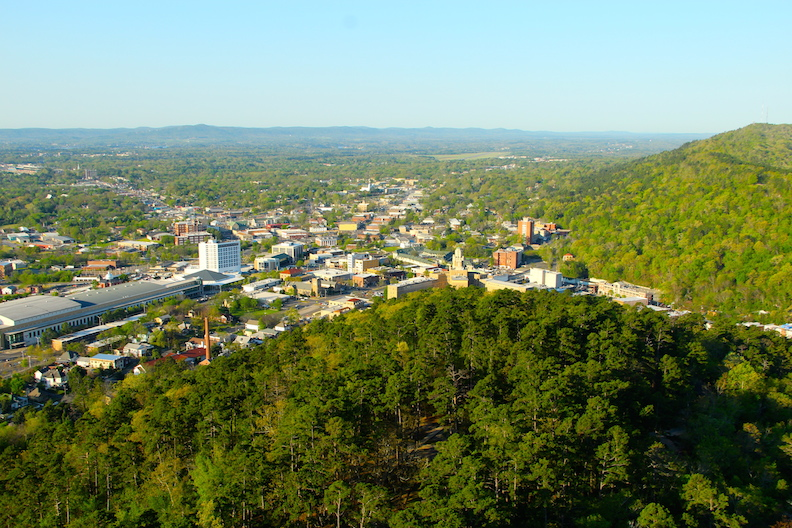 Hot Springs Arkansas vista