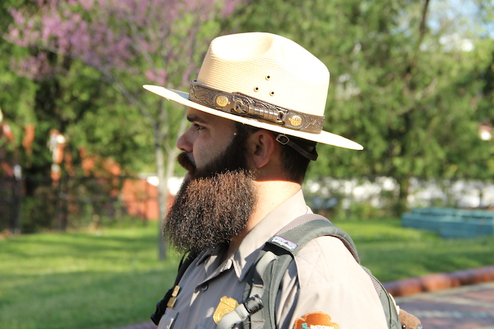 NPS Ranger Miguel Marquez, Hot Springs National Park