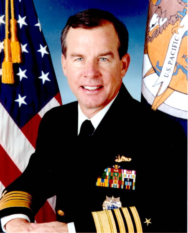 Four Star Admiral Thomas Fargo USN (Ret) former Commander of the Pacific Fleet. Photo Credit: United States Navy
