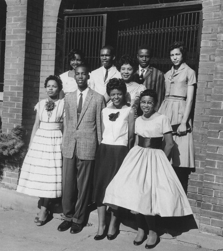 Little Rock Nine 1957 Photo Credit: National Park Service