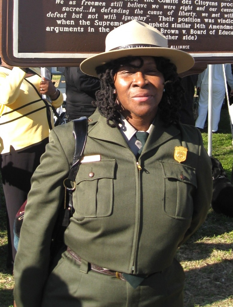 Robin White, National Park Service Superintendent at Little Rock Central High School National Historic Site. Photo Credit: National Park Service