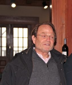 David Morrisette at his winery in Virginia