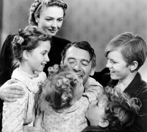 it's a Wonderful Life family scene