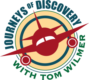 Journeys of Discovery with Tom Wilmer logo
