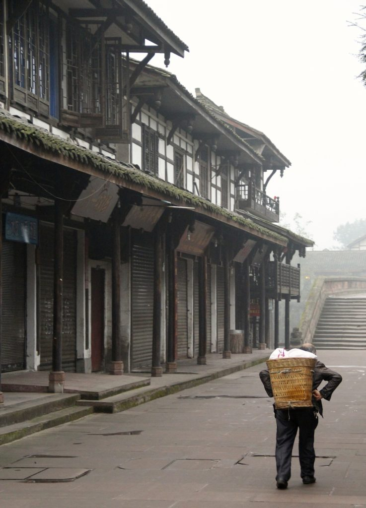 Early morning in Pingle Ancient Town, Sichuan Province, China  Photo Credit: Tom Wilmer