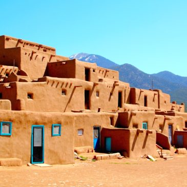 New Mexico's Taos Pueblo, inhabited for 1,000 years