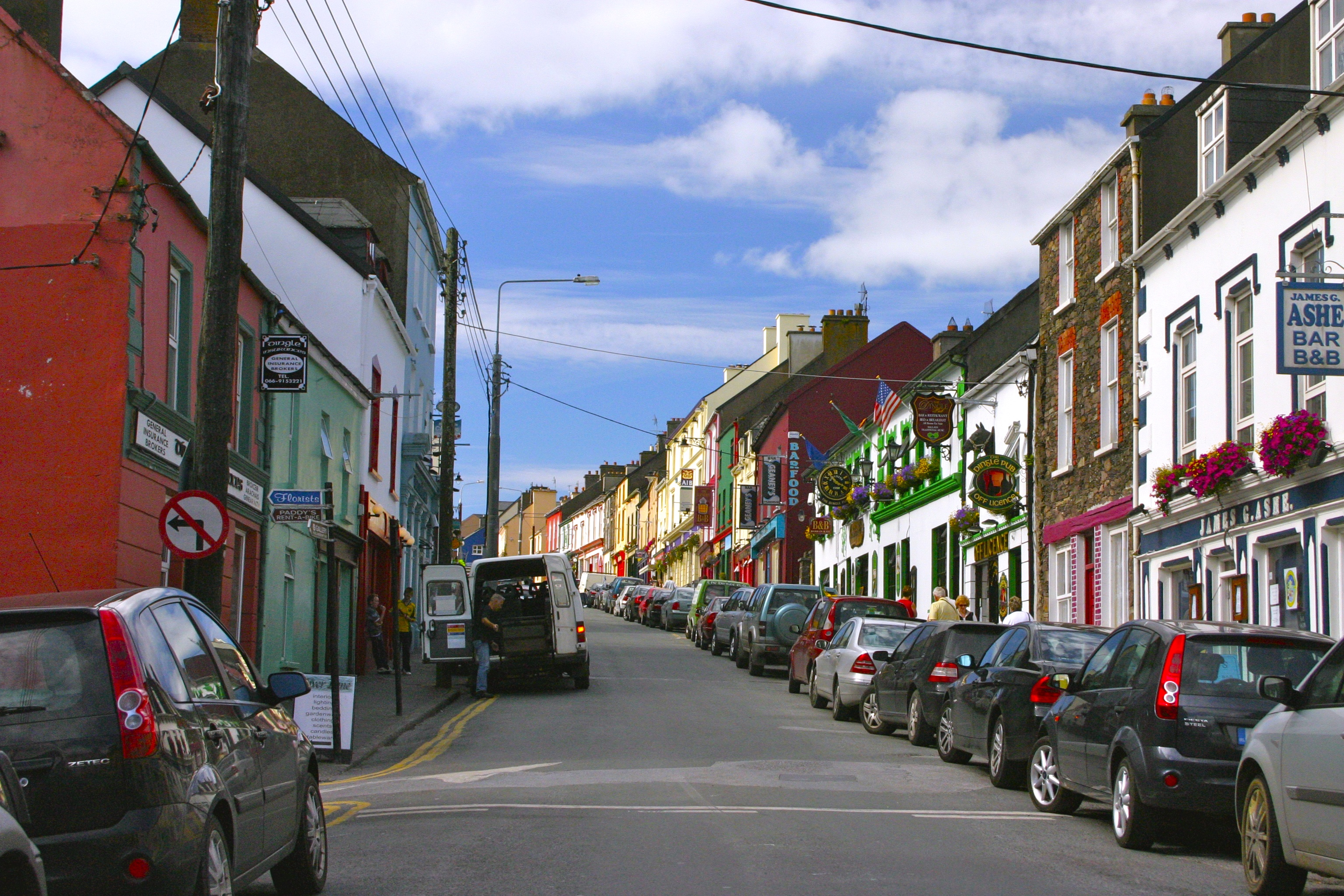 Town of Dingle, County Kerry, Ireland. Photo Credit: Tom Wilmer