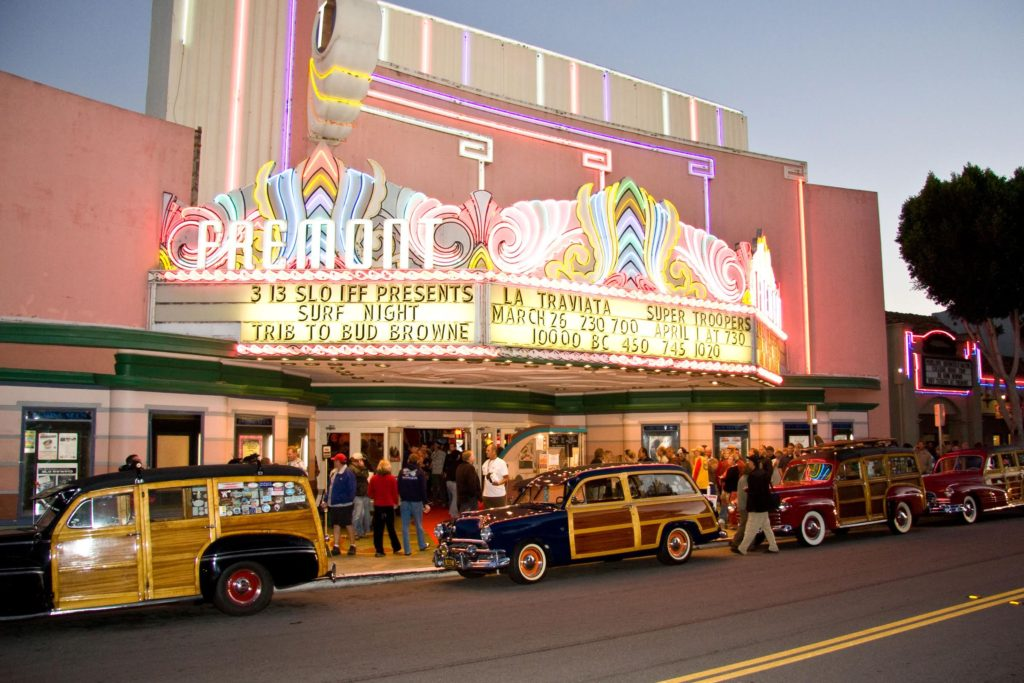 Fremont Theater in downtown San Luis Obispo is the Film Fest anchor venue