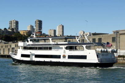 Hornblower Cruises CEO proposes high-speed ferries as alternative to freeway gridlock