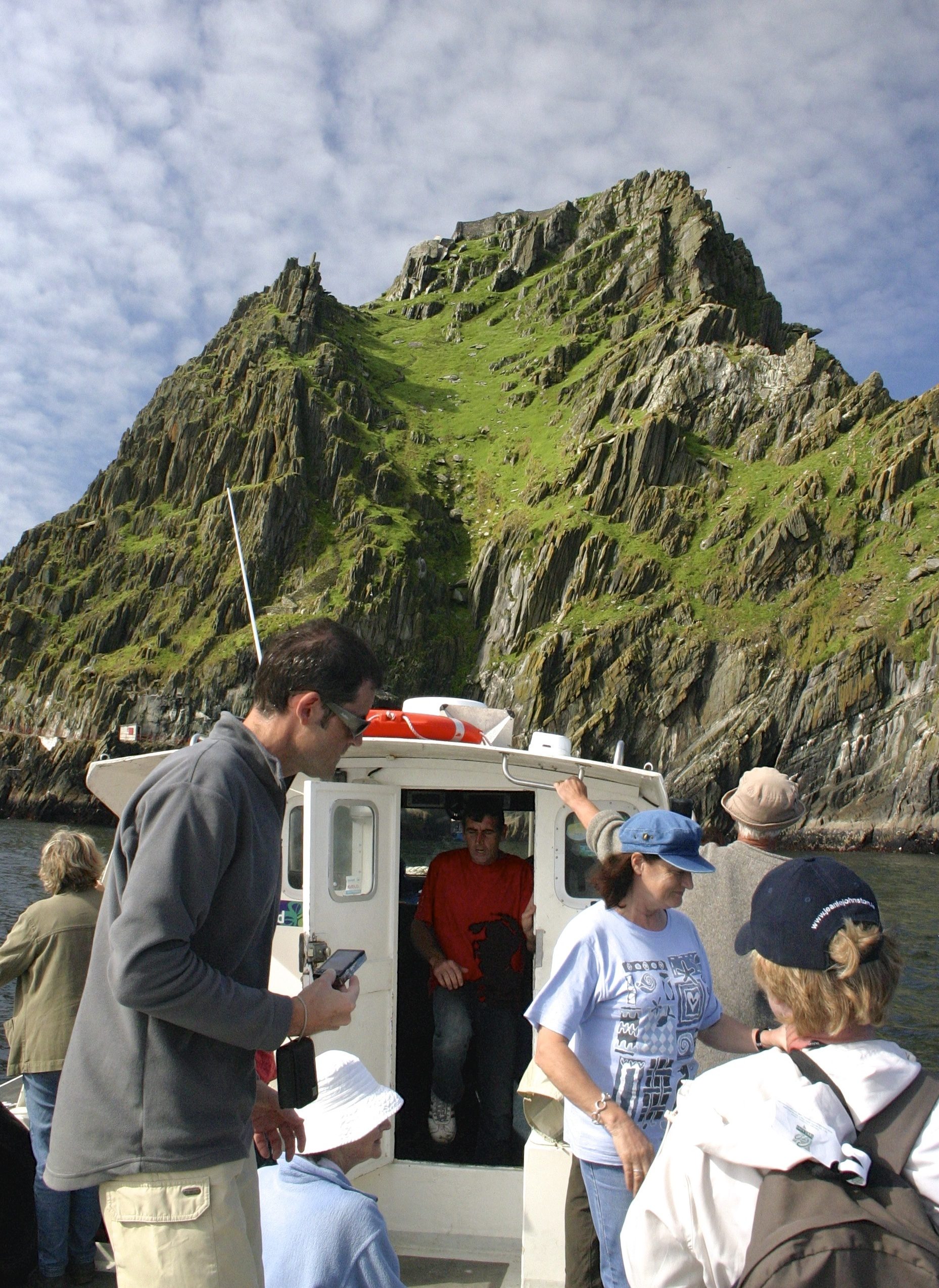 traveling from Port Magee to Skellig Michael Island, County Kerry, Ireland