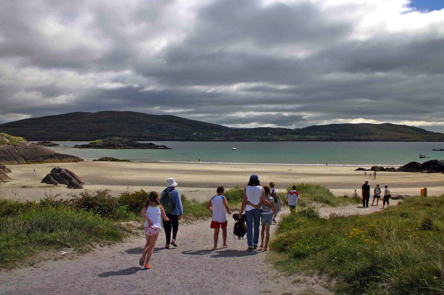 Sandy beach Ring of Kerry, Ireland. Photo Credit: Tom Wilmer