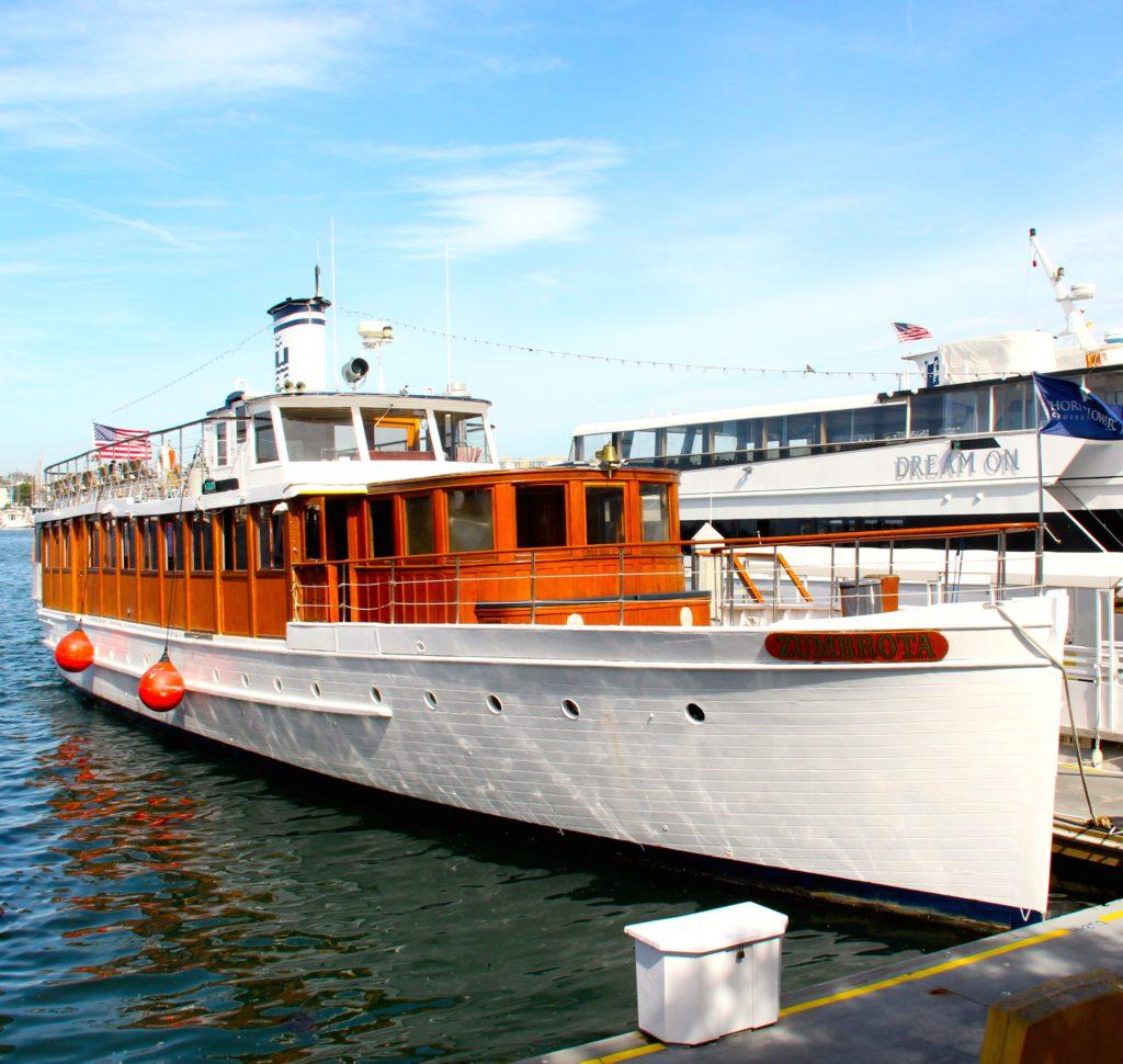 Circa-1918 M.V. Zumbrota lives on as luxury charter yacht
