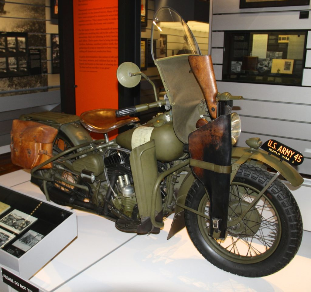 1945 U.S. Army Harley-Davidson at Harley-Davidson Museum Photo Credit: Tom Wilmer