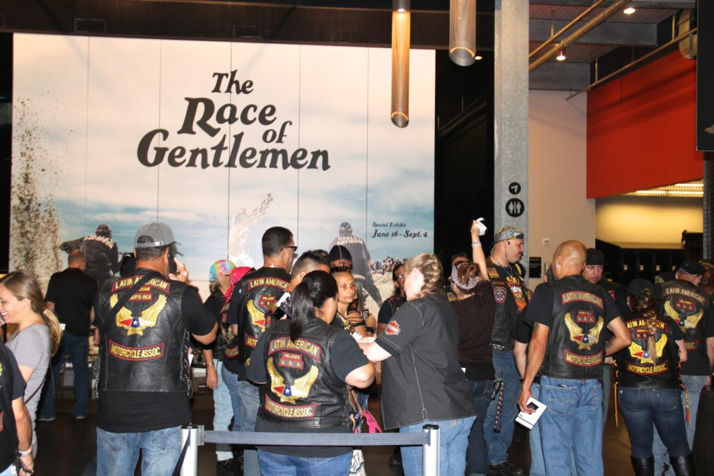 Latin American Motorcycle Association visits Harley-Davidson Museum in Milwaukee