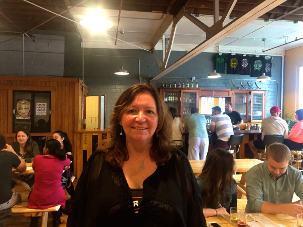 Colleen Bos at Bos Meadery in Madison, Wisconsin