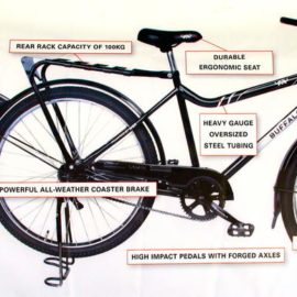 World Bicycle Relief–providing life transformative Buffalo bikes to African villagers