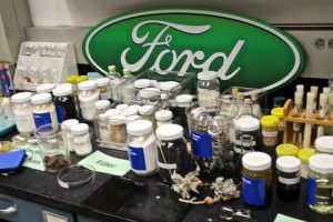 Ford's Research lab at Dearborn, Michigan