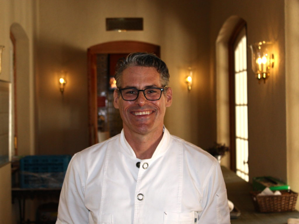 Jordan Winery's Chef Todd Knoll