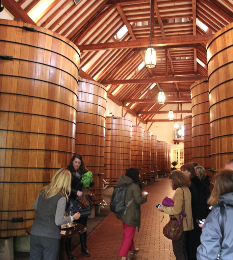 Stunningly elegant cellars at Jordan Winery in Alexander Valley   Photo Credit Tom Wilmer