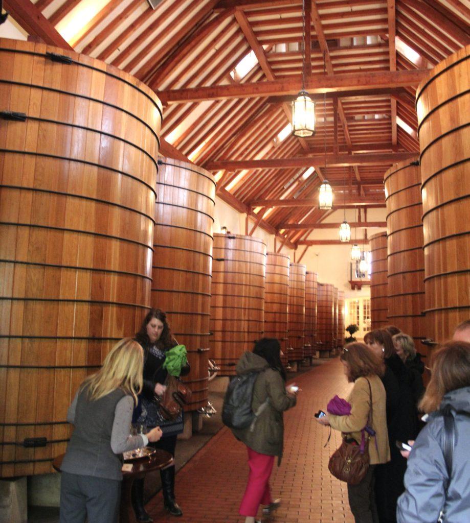 Stunningly elegant cellars at Jordan Winery in Alexander Valley   Photo Credit Tom Wilmer
