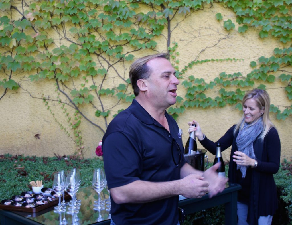 John Jordan shares his passion for crafting fine wine