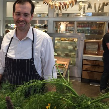 James Beard Award-winning Healdsburg Shed—fresh and organic from vegetables to killer cuisine