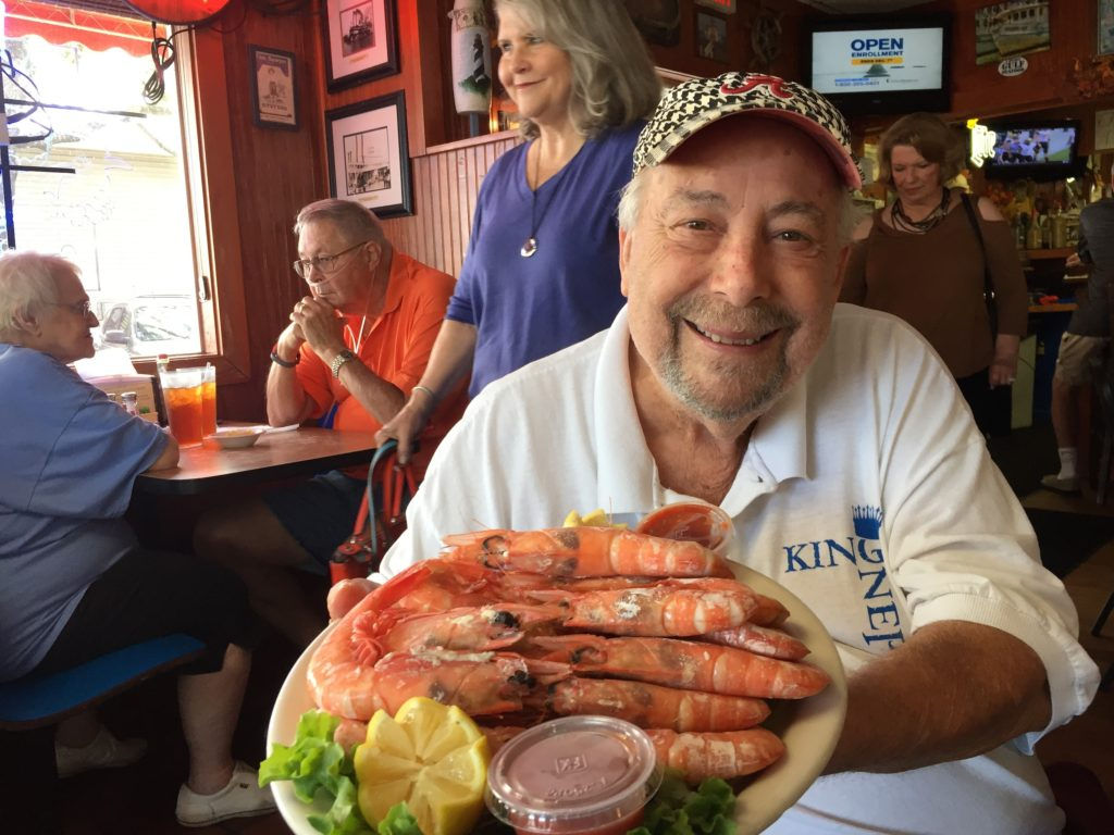Al Sawyer owner of King Neptune's in Gulf Shores Alabama. Photo Credit: Tom Wilmer