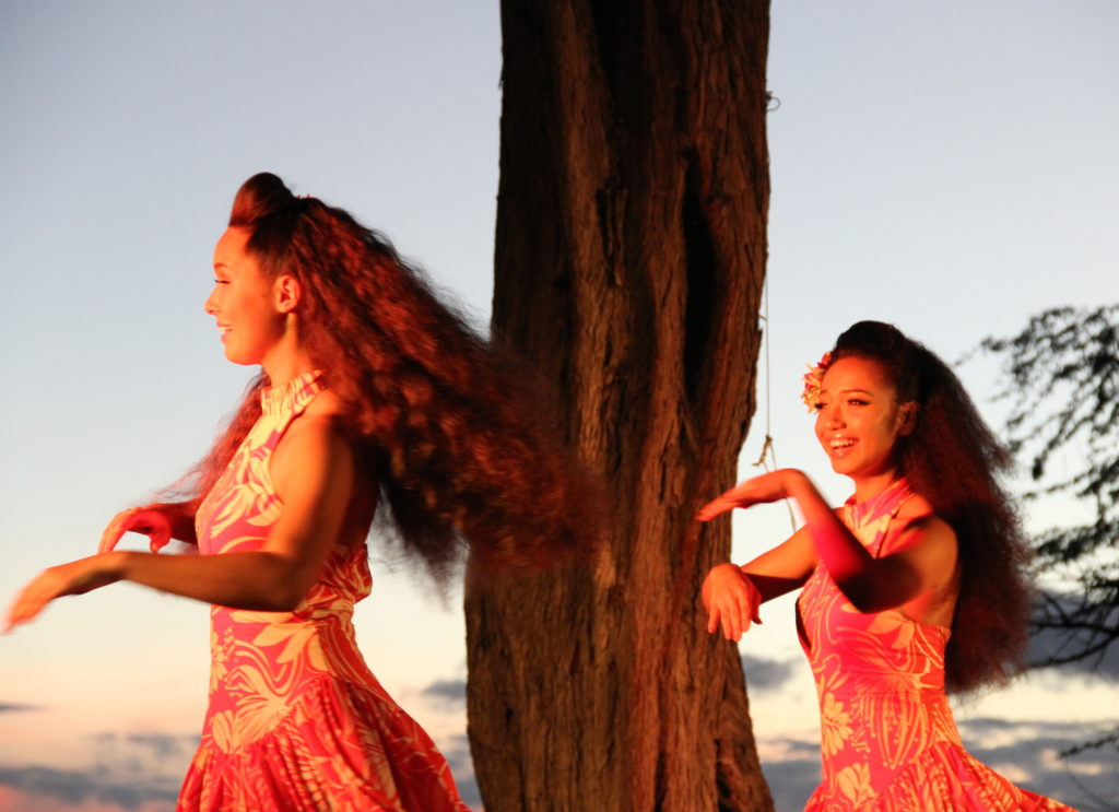 Lim Family Luau at Mauna Kea Resort Big Island Hawaii.