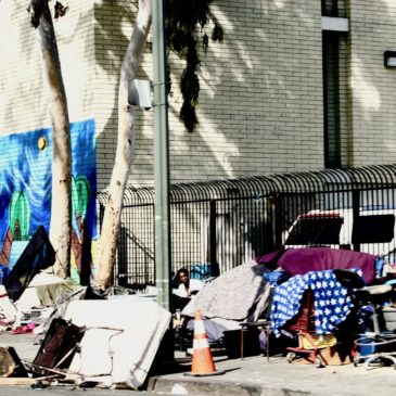 A tale of two cities—a far cry from the best of times for Los Angeles County's 60,000 homeless