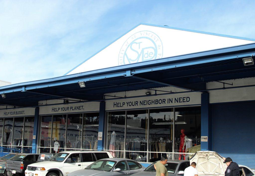 Society of Saint Vincent de Paul's Los Angeles Thrift Store