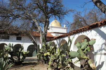 "William Randolph Hearst's ""Hacienda"" designed by Julia Morgan has been a part of Fort Hunter Liggett since the dawning days of WWII"