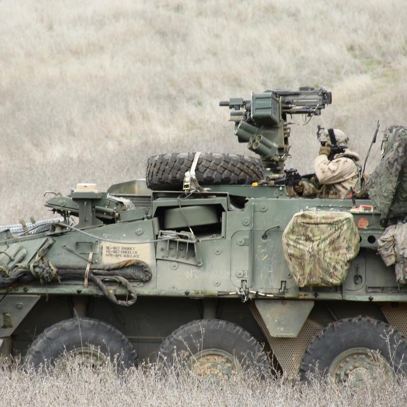 7th Infantry Division training exercise at Fort Hunter Liggett