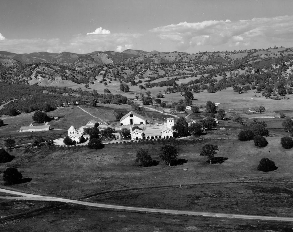 U.S. Army Fort Hunter Liggett Hacienda circa 1941