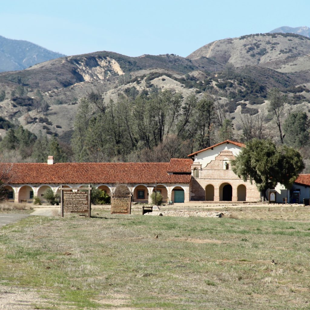 Mission San Antonio ia located in Southern Monterey County adjacent to Fort Hunter Liggett