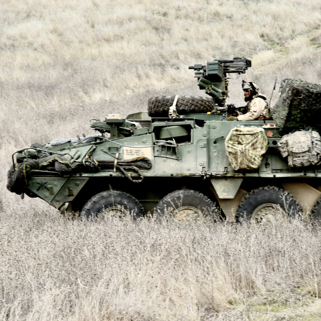 7th Infantry Division Stryker exercise at Fort Hunter Liggett