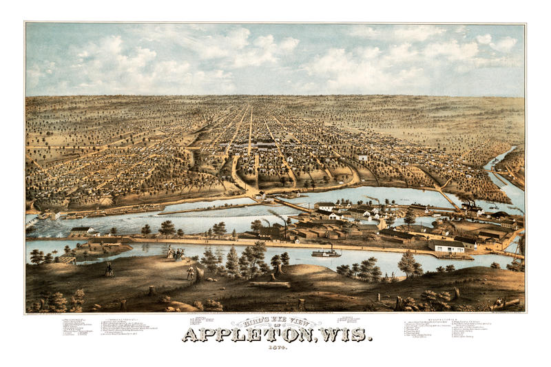 Appleton, Wisconsin 1874