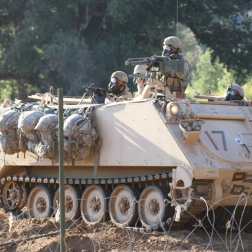 Fort Hunter Liggett Army Reserve combat-ready training exercise