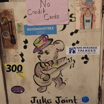 "A visit with ""Teddy"" at Teddy's Juke Joint in the heart Louisiana's realm of the Swamp Blues"